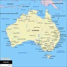 map of australia political australian map new zone