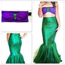 Mermaid Halloween Costume Adults Mermaid Princess Mermaid Tail Mermaid Costume