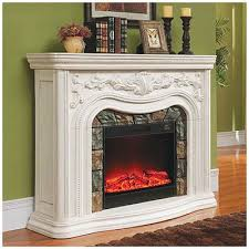 White Electric Fireplace 62 U2033 Grand White Electric Fireplace At Big Lots U2026 Pinteres U2026
