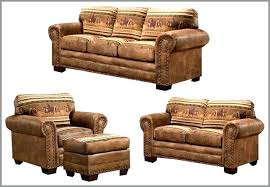 Rustic Living Room Furniture Set Leather Living Room Furniture Sets Cirm Info