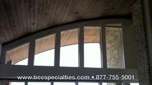 trapezoid motorized blinds youtube