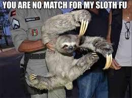 Make A Sloth Meme - the sloth poop dance