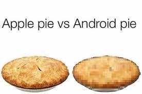 Pie Meme - dopl3r com memes apple pie vs android pie