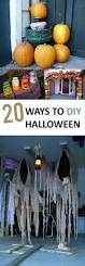 Ideas Halloween Decorations Best 25 Spooky Decor Ideas On Pinterest Diy Halloween Spooky