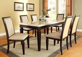 Round Espresso Dining Table Espresso Round Dining Table Set Rochelle 5 Piece 5pcs Modern And