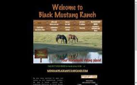 black mustang ranch pilot point directory o