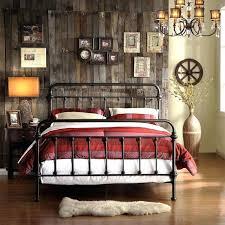 White Metal Kingsize Bed Frame King Iron Headboard Senalka