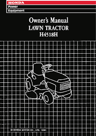 honda lawn mowers h4518h 1000001 9999999 pdf owner u0027s manual free