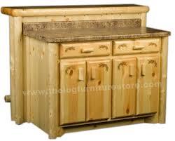 pine kitchen island pine log kitchen island cabinet log furniture store rustic