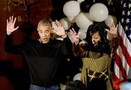 Barack Obama Halloween Costume President Barack Michelle Obama Dance U0027thriller U0027