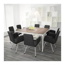 Ikea Bekant Conference Table Bekant Conference Table Birch Veneer Black Ikea