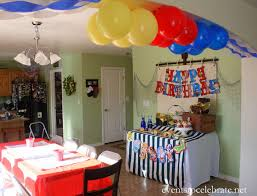 birthday decoration at home for kids kid birthday party at home ideas