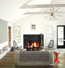 lennox gas fireplace living room farmhouse with cozy framed art
