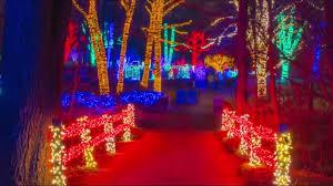Garvan Gardens Christmas Lights 2015 Meadowlark Gardens Winter Walk Of Lights Youtube