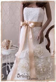 wedding dresses with sash ribbon beige bridal sash wedding dress sash bridal belt bridal sash