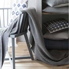 jeté de canapé en jeté de lit 240 x 260 cm maïa gris tourterelle achat vente jetée
