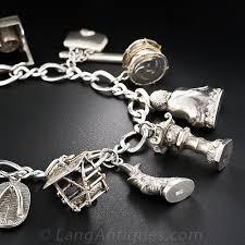 bracelet charm silver images Japanese vintage charm bracelet jpg