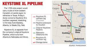 keystone xl pipeline map keystone pipeline map politico