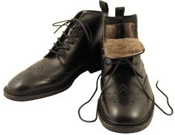 shearling lined loake wolf of brogues pinterest