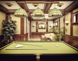 3d billiard room interior design by narminart on deviantart