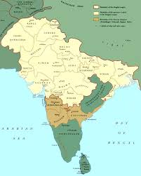 Agra India Map by Later Mughals And Disintegration Of The Mughal Empire In India