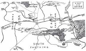 The Hobbit Map Approaching Tolkien U0027the Lord Of The Rings U0027 A Tolkienist U0027s