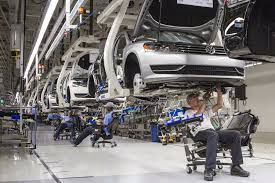 volkswagen germany factory vw emissions rigging will drive auto industry manufacturing costs