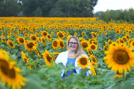 Sunflower Fields Forever Librarian Style