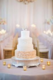 wedding cake gold wedding cakes gold and white pearl cake topper with luxurious