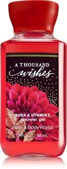 a thousand wishes bath works travel size shower gel a thousand wishes at