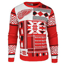 detroit red wings ugly christmas sweaters u2013 ugly christmas sweater