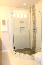 Corner Bathroom Showers Corner Shower Ideas Jamiltmcginnis Co