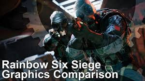 comparaison siege auto rainbow six siege ps4 xbox one pc graphics comparison