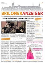Sch E G Stige K Hen Briloner Anzeiger Ausgabe Vom 05 07 2017 Nr 25 By Brilon