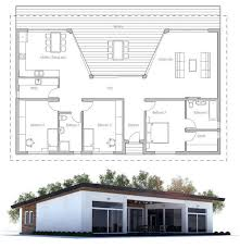 small one level house plans nobby design small terraced house plans 6 189 best images about