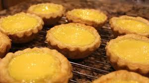 chinese egg tart very flaky puff pastry youtube