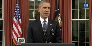 president obama links isis and gun control in rare oval office