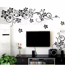 popular black flower wall stickers buy cheap black flower wall popular black flower wall stickers buy cheap black flower wall