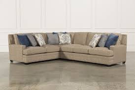 living spaces sofa sleeper glamour ii 3 piece sectional living spaces spaces and living rooms