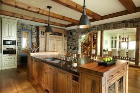 Cabin Kitchen Designs Rustic Kitchens Designs Endearing Rustic Cabin Kitchen Ideas The