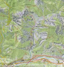 Swiss Alps Map Hiking Map 18 Carnic Alps U0026 Eastern Canal Del Ferro Carnic
