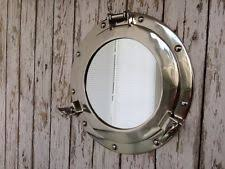porthole mirrored medicine cabinet ship porthole ebay
