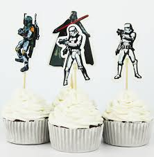 wars party supplies 24pcs the wars cupcake topper picks birthday wedding party