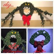 halloween wreaths diy nightmare before christmas man eating wreath tutorial new diy