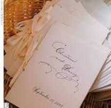 Wedding Ceremony Pamphlets Circle Monogram Wedding Programs Wedding Ceremony Programs