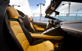 lamborghini aventador roadster yellow 2015 lamborghini aventador interior wallpaper hd 8692