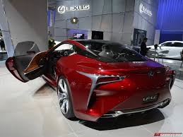 lexus lf lc tail lights los angeles 2013 lexus lf lc gtspirit