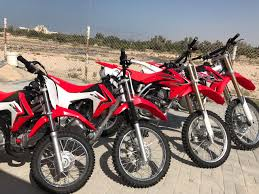 motocross bike hire dirt bike rental dubai honda crf 250 r factory