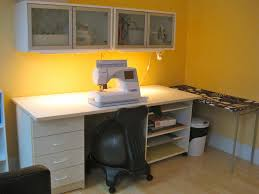 littlesage sewing room paint and furniture