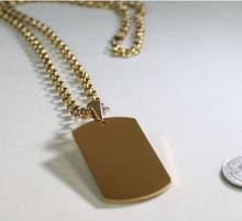 customized dog tag necklace with picture buy gold engraved dog tags and get free shipping on aliexpress